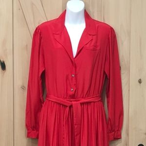 Jack Mulqueen Silksation Red Dress